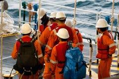 Installatiearbeiders Stock Foto's