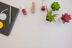 Installaties en manicure Stock Fotografie