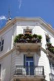 Installaties op balkon Royalty-vrije Stock Afbeeldingen