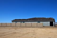 Installation av ett nytt tak Royaltyfri Foto