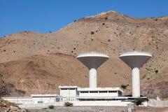Installation d'approvisionnement en eau en Oman photo libre de droits