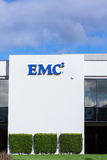 Installation d'EMC dans Silicon Valley image stock