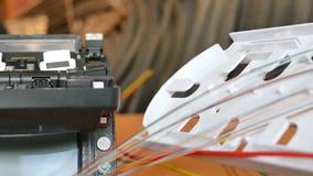 Installation d'un câble d'Internet