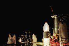 Installation de dîner Photographie stock libre de droits