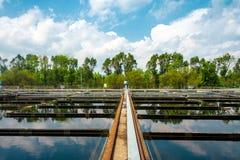 Installation de nettoyage de l'eau Images libres de droits