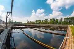 Installation de nettoyage de l'eau Images stock
