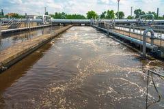 Installation de nettoyage de l'eau Photographie stock libre de droits