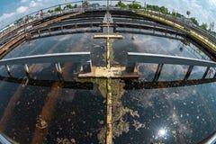 Installation de nettoyage de l'eau Photo libre de droits