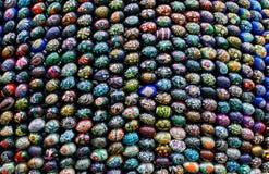 Installation de Pâques (groupe d'oeufs de pâques) Photo libre de droits