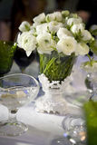 Installation de restauration, réception de mariage Photos libres de droits