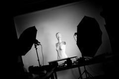 Installation de studio image libre de droits