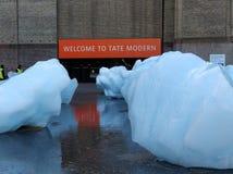 Installation de Tate Modern Ice Watch photo libre de droits