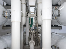 Installation des dispositifs industriels de membrane photo stock