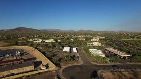Installation du nord de traitement de l'eau de l'Arizona banque de vidéos