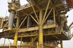 Installation extraterritoriale de production de pétrole Photos libres de droits