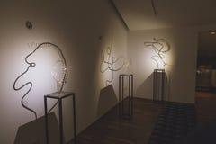 Installation för Fuorisalone 2015 på Ventura Lambrate utrymme i M Royaltyfri Fotografi