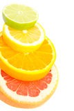 Installation From Fruits Royalty Free Stock Photos