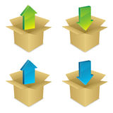 Installation Icons EPS Royalty Free Stock Photo