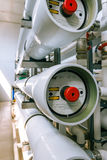 installation of industrial membrane devices Stock Photo