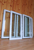 Installation of plastic windows Royalty Free Stock Photo