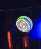 Installation pour la création des effets de la lumière images stock