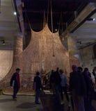 Installation view of work by Ernesto Neto, Um Sagrado Lugar Stock Image