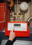Riscaldamento dell'idraulico Immagini Stock Libere da Diritti