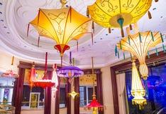 Installazione del fiore dell'hotel di Las Vegas Wynn Immagini Stock Libere da Diritti