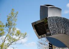 Installazione del metallo nel centro urbano di Everett Fotografie Stock Libere da Diritti