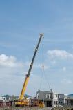 Installazione dello strato concreto Immagini Stock