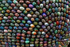 Installazione di Pasqua (gruppo di uova di Pasqua 2) Fotografie Stock Libere da Diritti