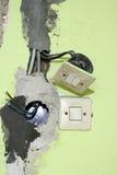 Installazione elettrica Immagini Stock