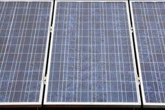 Installazione fotovoltaica Immagine Stock