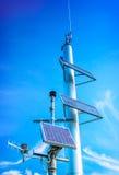 Installazione fotovoltaica industriale Fotografia Stock