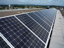 Fotovoltaico Fotografie Stock