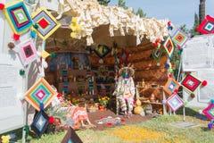 Installazione messicana tradizionale dell'altare Fotografie Stock