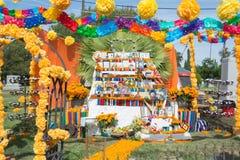 Installazione messicana tradizionale dell'altare Immagini Stock