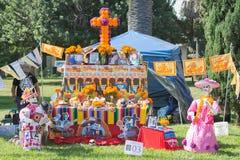 Installazione messicana tradizionale dell'altare Fotografia Stock