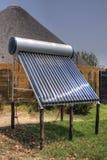 Installazione termica solare Fotografia Stock