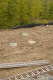 Installed Septic system Stock Photos