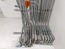 Installeer Elektrosystemen in gebouwen royalty-vrije stock foto