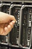 Installeer Server harde aandrijving Stock Afbeeldingen