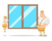 Installers okno Obraz Royalty Free
