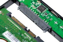 Installez HDD sur le cas externe de clôture Photo libre de droits