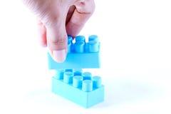 Installieren des Blockes. Lizenzfreie Stockfotografie