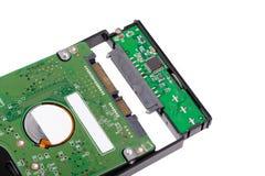 Installieren Sie HDD zum externen Einschließungsfall Stockfoto