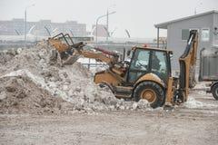 Installierung des Schneeschmelzens Lizenzfreie Stockfotos