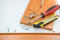 Installion della mobilia Fotografia Stock