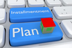 Installment Plan concept Stock Image