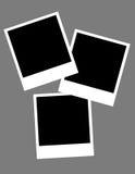 Instamatic Leerzeichen Stockfotos